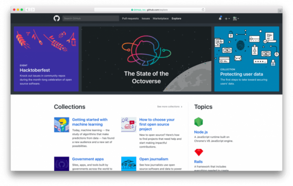 Github wants to make it easy to discover fun projects to hack on