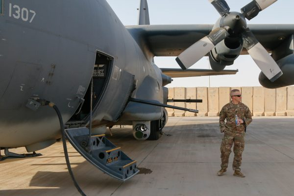 Watch a AC-130 Gunship Devastate Targets on the Ground with Its Howitzer