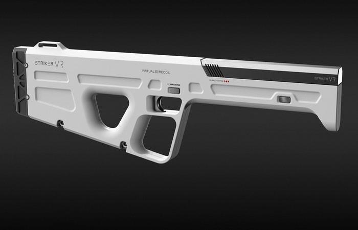 Striker VR Demonstrates ARENA Infinity Haptic VR Gun Prototype
