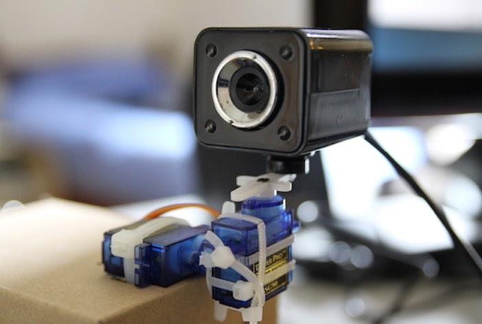 Raspberry Pi Pan And Tilt Camera Created