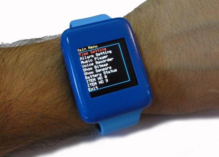 Open Source Arduino Smartwatch
