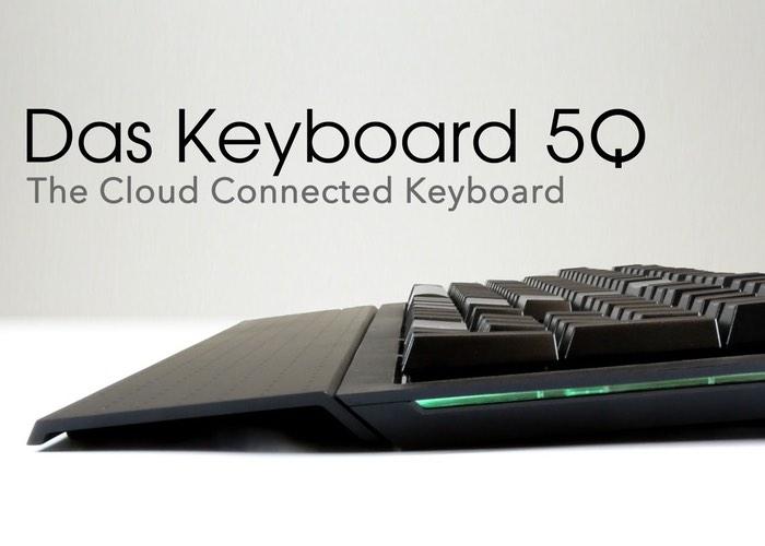 Das Keyboard 5Q Cloud Connected Keyboard (video)
