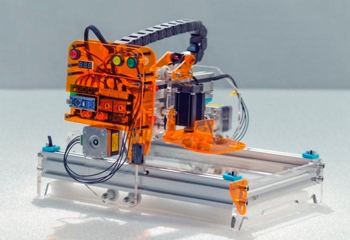 Big Blue Sparx Diode Laser Cutter Upgrades (video)