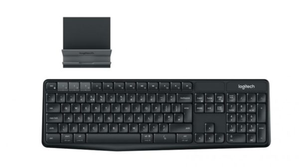 Logitech K375s Multi-Device Wireless Keyboard and Stand Combo Launched