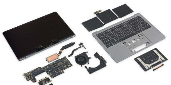 MacBook Pro With Touch Bar Has Non-Upgradeable SSD Chips, Users Report