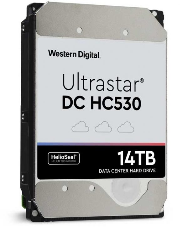 Western Digital Outs Capacious 14TB Ultrastar DC HC530 HDD For Enterprise Markets