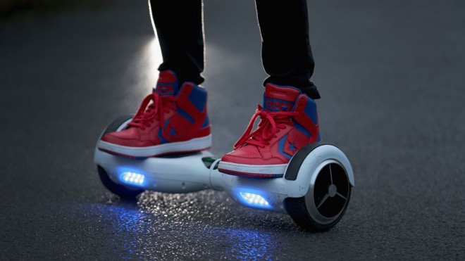 using hoverboard is illegal on Australian roads