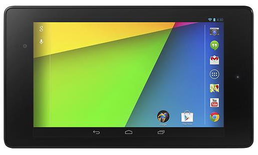Google Officially Unveils Nexus 7 Alongside Android 4.3 Jelly Bean