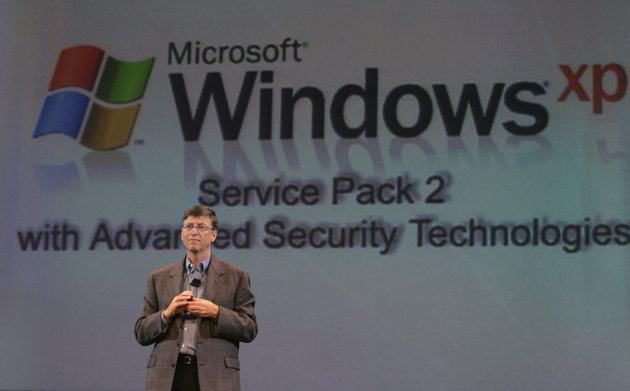 Microsoft CEO Gates gives keynote at RSA security conference.