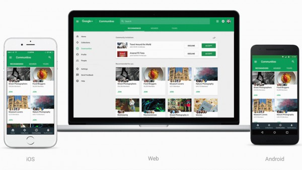 Google redesigns Google+ to attract users