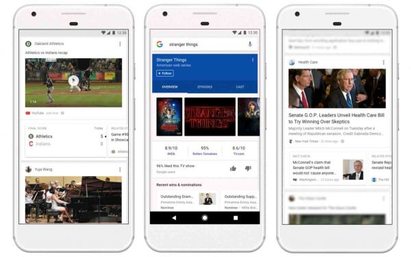 Google feed getting improvements on Android and iOS