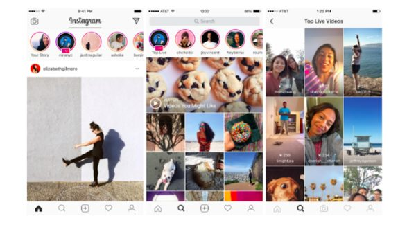 Instagram Stories Gets Live Video Broadcasts, Instagram Direct Gets Disappearing Messages