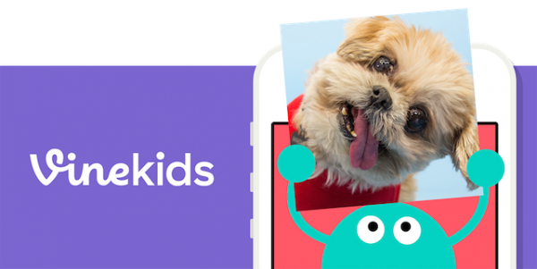 Vine has released a special version of the app specifically for kids
