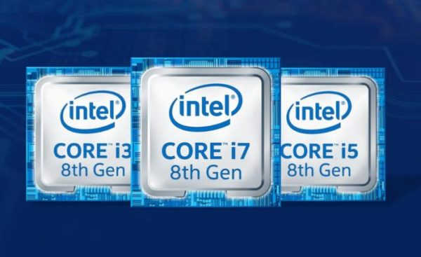 INTEL'S 8TH-GEN CORE CPUS COULD BOOST LAPTOP PERFORMANCE BY 40 PERCENT