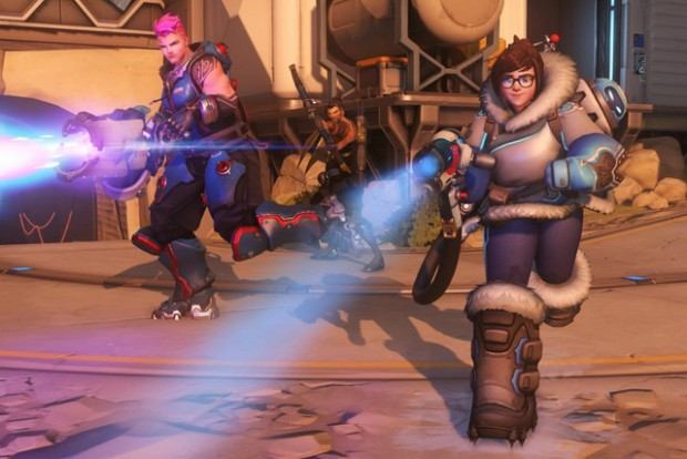 It's snowing in King's Row: 'Overwatch' teases holiday event