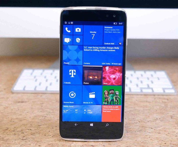 Alcatel Idol 4S with Windows 10 Mobile on sale at Amazon for $284.99