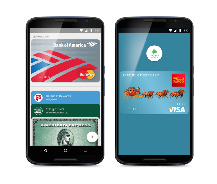 Android Pay takes its battle against Apple Pay to the U.K.