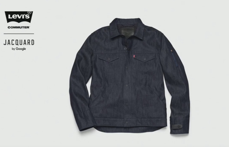 """Google and Levi's team up on a """"connected"""" jacket that lets you answer calls, use maps and more"""