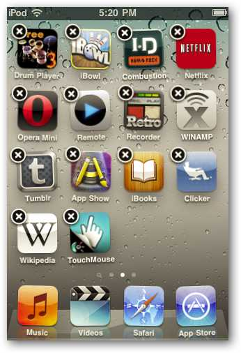 Beginner: Group Similar Apps Using Folders on Your iOS 4 iPhone or iPod Touch